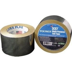 Polyken 337 - Multi-Purpose Plain Aluminum Foil Tape