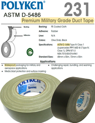 Polyken® 231 ►Military-Grade Duct Tape◄