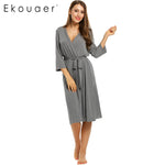 Ekouaer* Long Women's Bath Robe