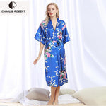 CR Summer Silk Robe