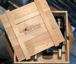4 Bottle Wooden Crate