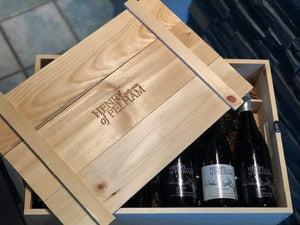 6 Bottle Wooden Crate