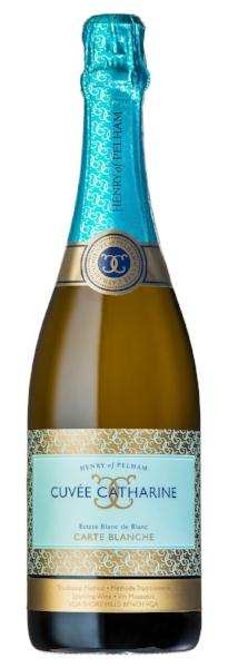 **AVAILABLE AT THE LCBO** 2014 Cuvée Catharine Estate Blanc de Blancs 'Carte Blanche'