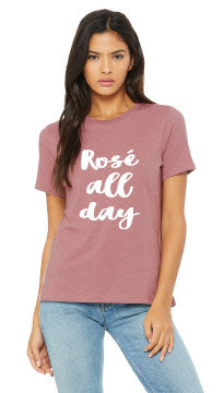 Pink Rosé All Day T-Shirt