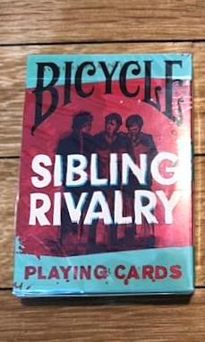 Sibling Rivalry Playing Cards