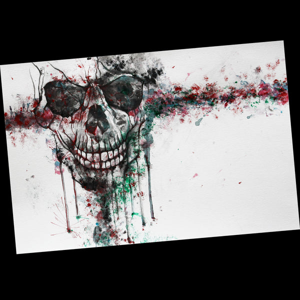Original Artwork - Resonation Skull