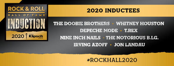 Introducing your RockHall 2020 Inductees
