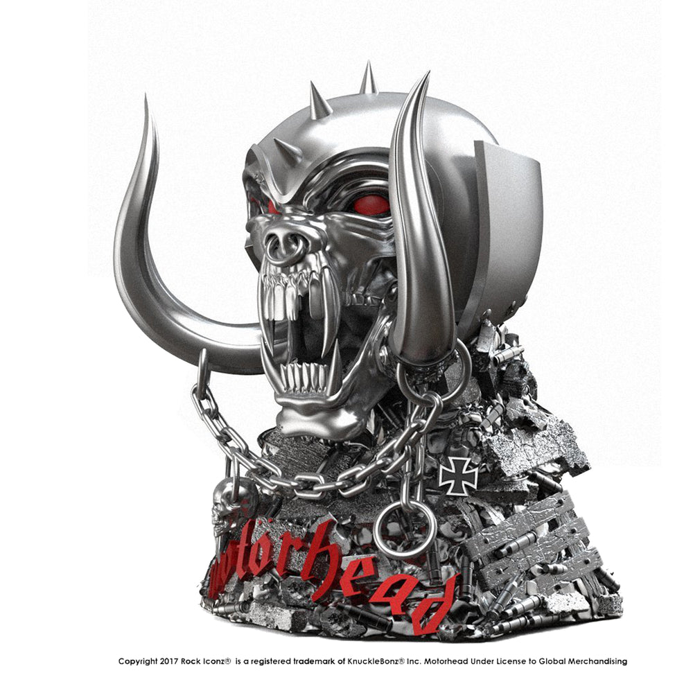Motorhead Collectible: 2017 KnuckleBonz Rock Iconz Motorhead Warpig Statue #89