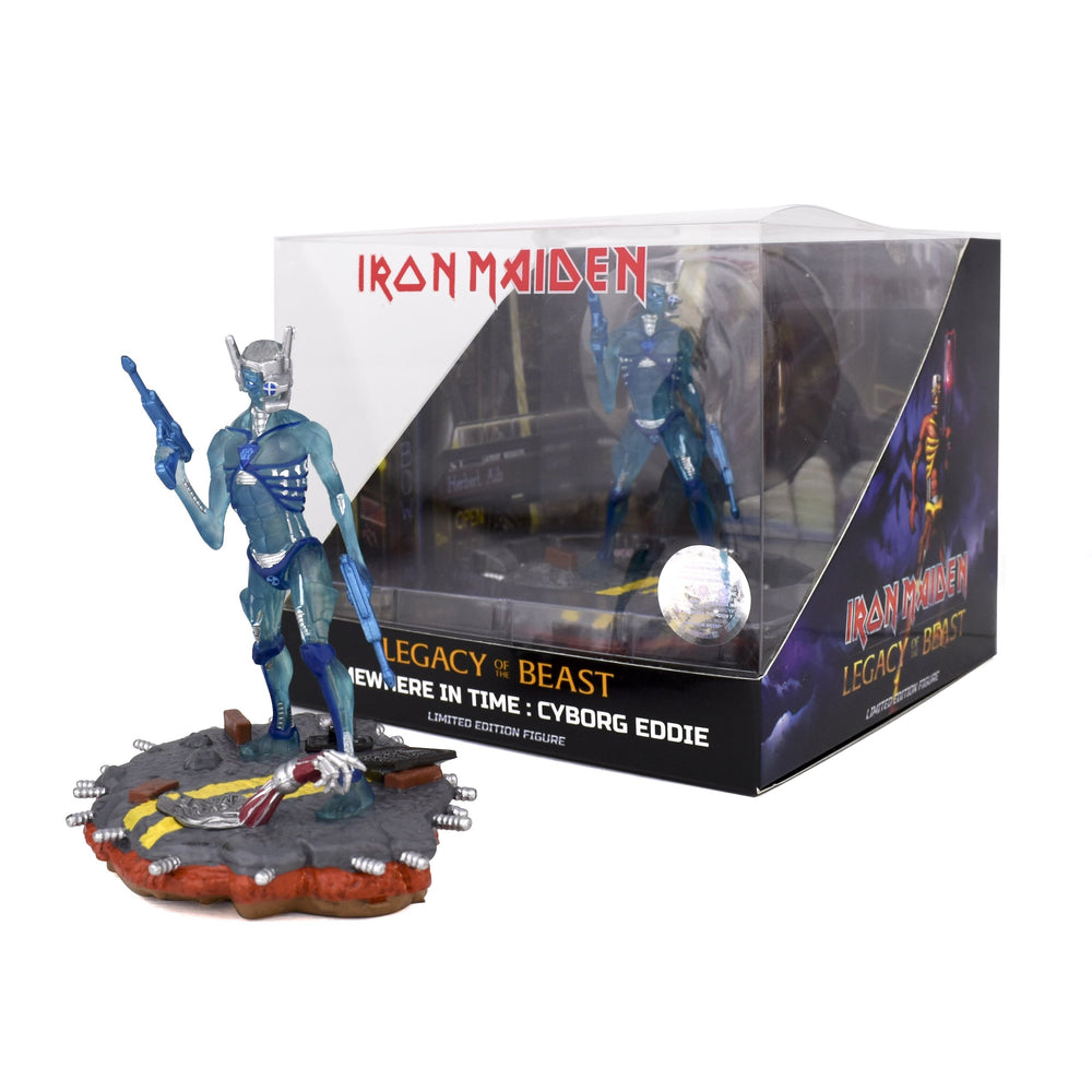 Iron Maiden 2018 Incendium Legacy of the Beast Somewhere in Time Wasted Years Variant Figure