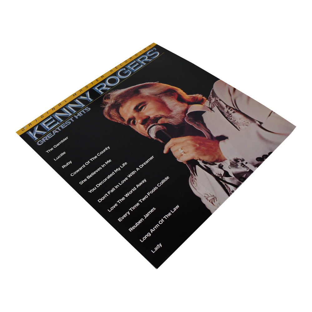 MFSL Collectors: 1978 Mobile Fidelity Kenny Rodgers Greatest Hits LP #1-049