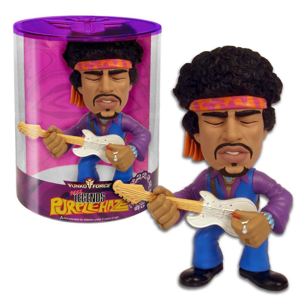 Jimi Hendrix Collectible: Rare 2009 Funko Force Purple Haze Figure