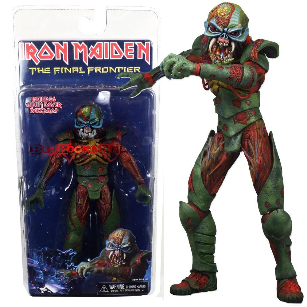 Iron Maiden Collectible: 2011 NECA The Final Frontier Eddie Figure