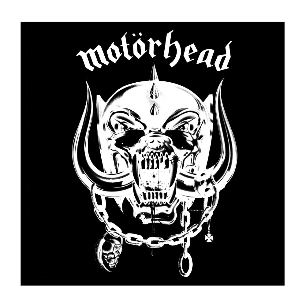 "Motorhead Collectible: 2018 Drastic Plastic Motörhead 150 gram Clear Black ""Smoke"" Vinyl LP"
