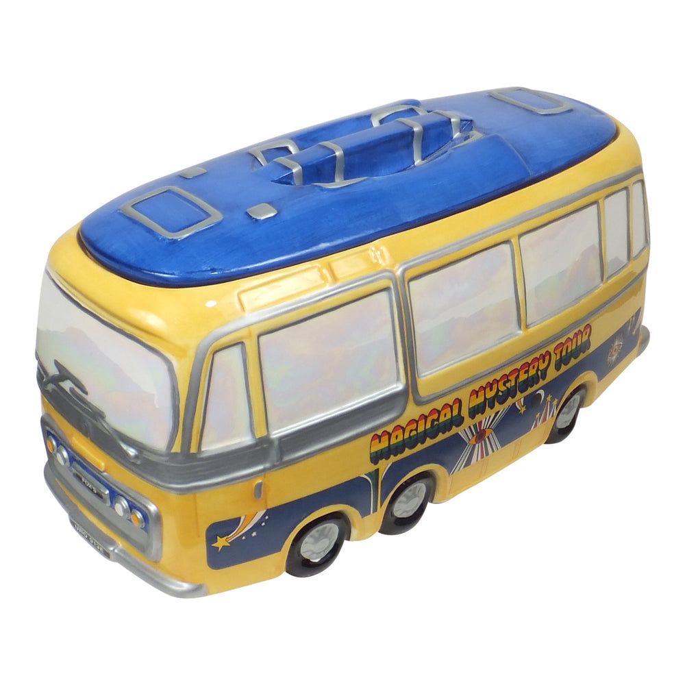 Beatles 1998 Vandor Premiere Limited Edition Magical Mystery Bus Cookie Jar #3396