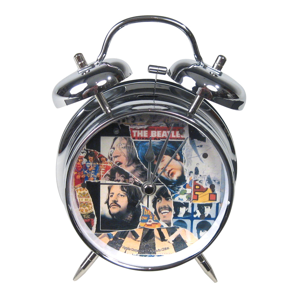Rare Beatles Collectible 2007 Vandor Anthology LP Album Twin Bell Alarm Clock