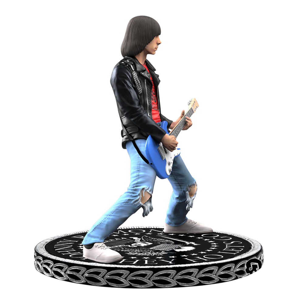 The Ramones Collectible 2018 KnuckleBonz Rock Iconz Johnny Ramone Statue
