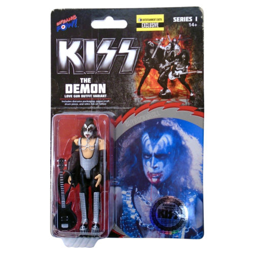 "KISS 2015 Bif Bang Pow! Love G-- Variant Bloody Demon Gene Simmons 3 3/4"" Figure"