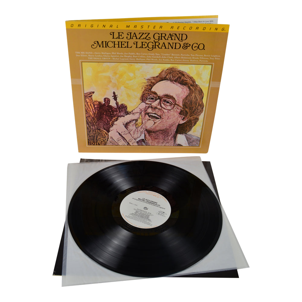 MFSL Collectors: 1979 Mobile Fidelity Michel Legrand Le Jazz Grand LP #1-504