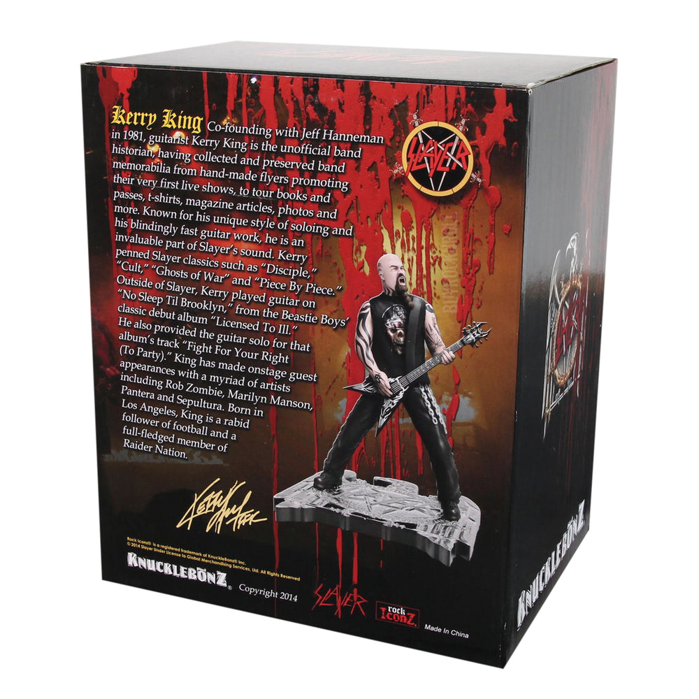 Slayer Collectible: 2014 Knucklebonz Rock Iconz Kerry King Statue #91 of 1000