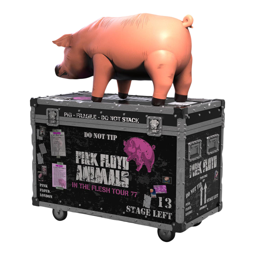 Pink Floyd Collectible 2020 KnuckleBonz Rock Iconz The Pig On Tour Statue