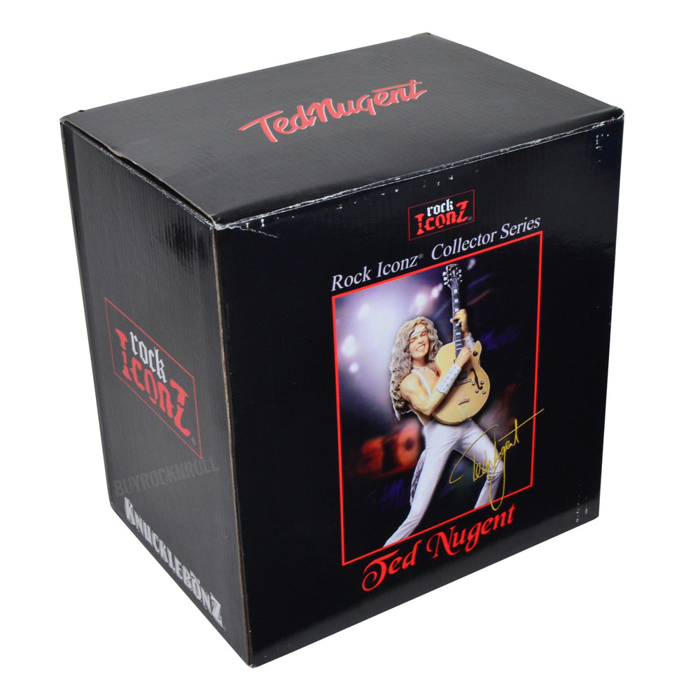 Ted Nugent Collectible 2008 KnuckleBonz Rock Iconz Ted  Byrdland Gibson Guitar Statue