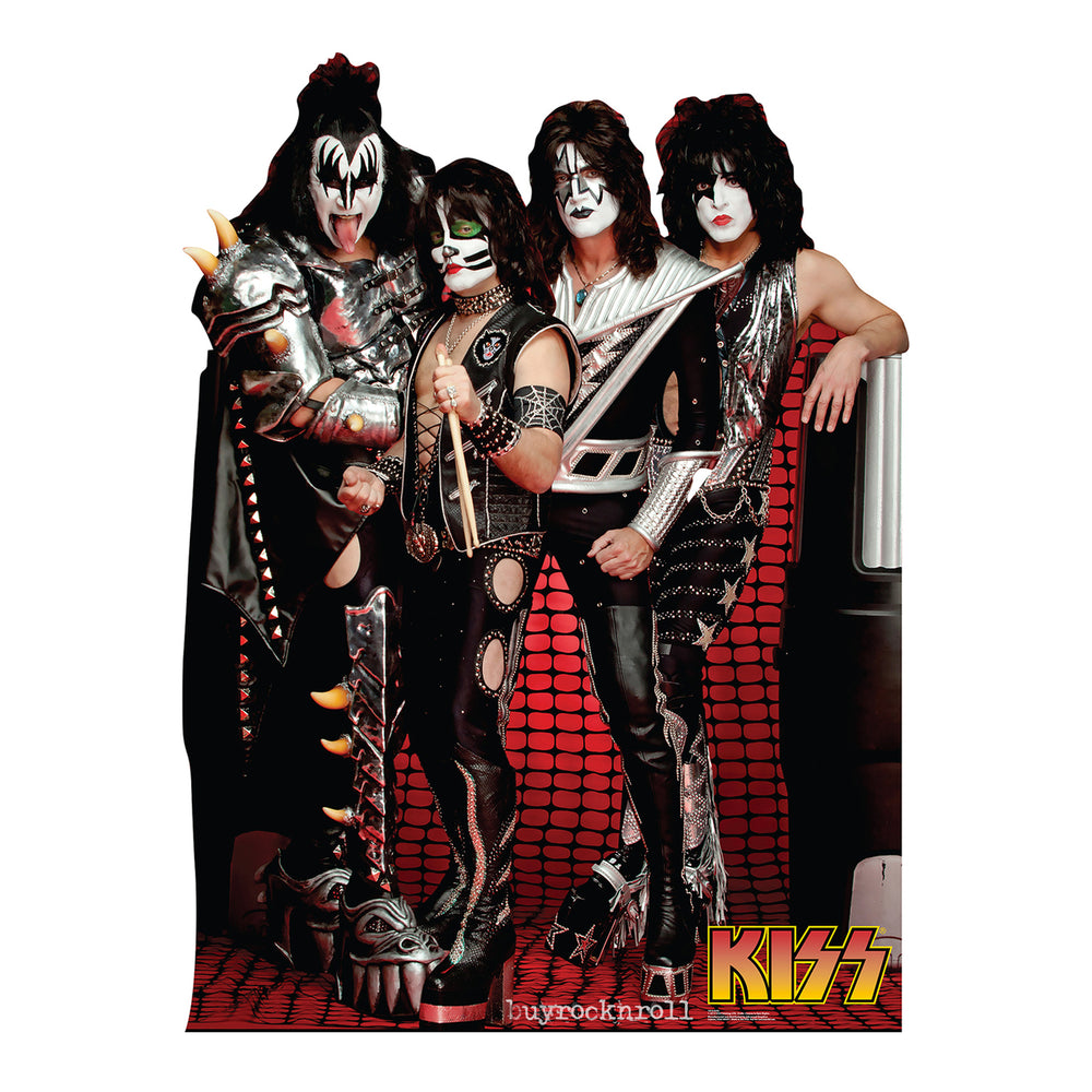KISS Collectibles 2014 Advanced Graphics KISS Band Members Standup