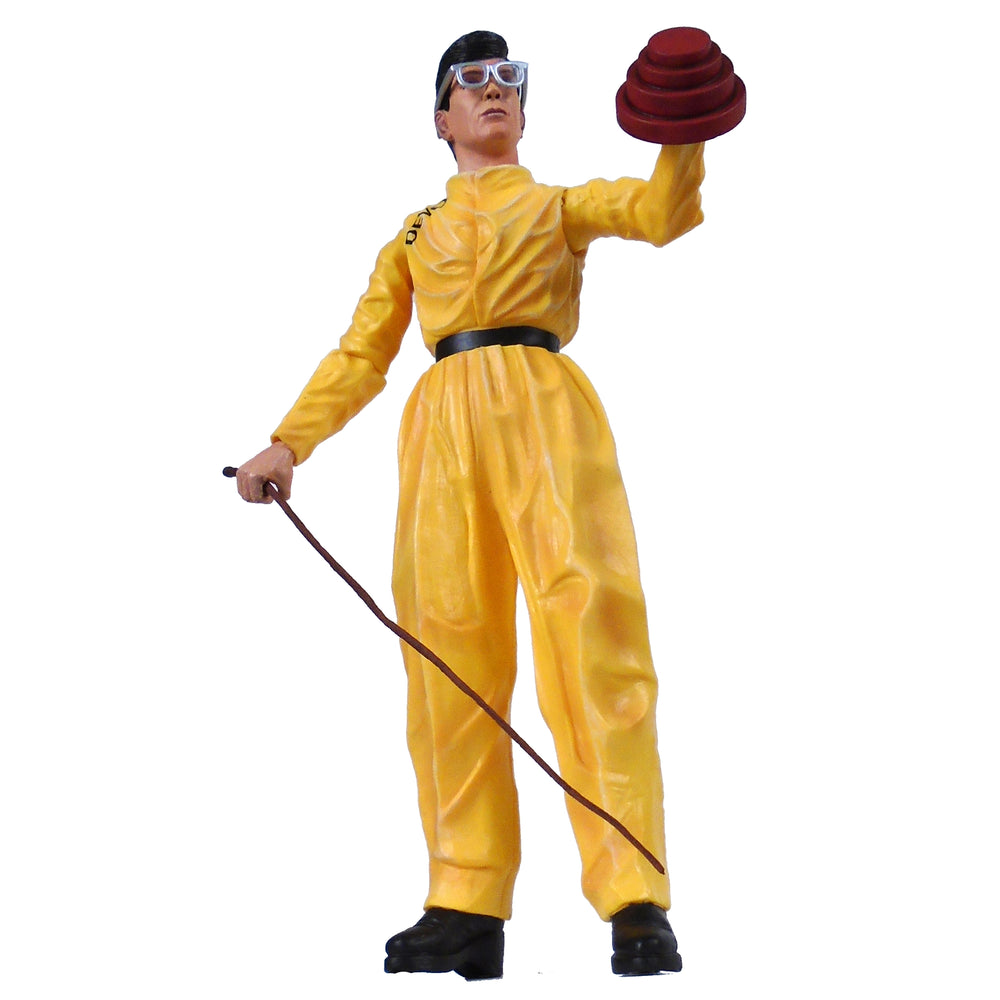 Devo Collectible 2005 NECA Figure with 5 Heads Energy Dome & Whip