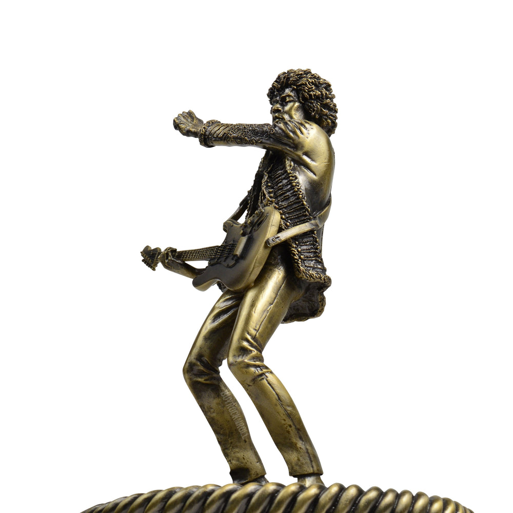 Jimi Hendrix 2007 Knucklebonz Rock Iconz Bronze Statue Limited Edition of 500