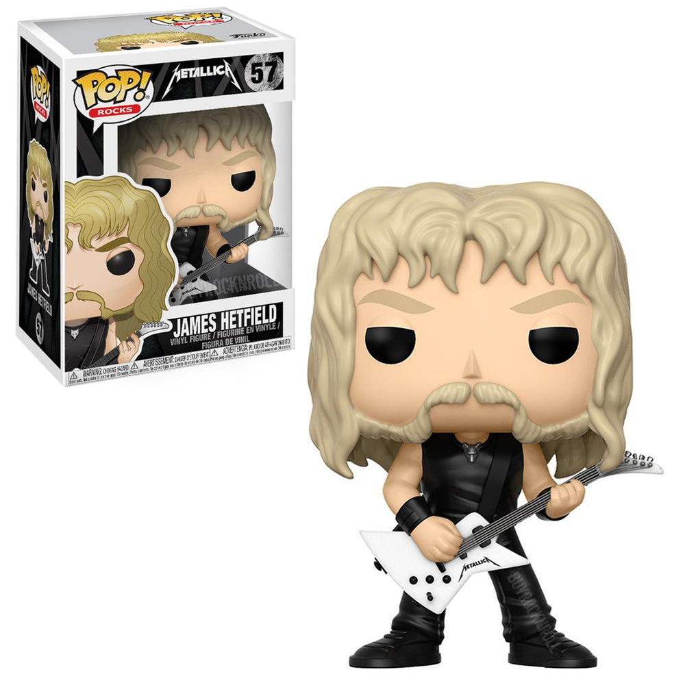 Metallica Collectibles: 2017 Funko POP! Rocks Figures - Band Members Set
