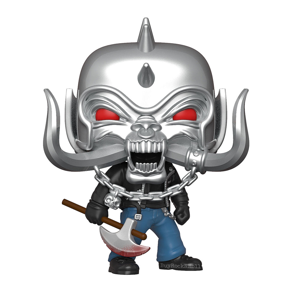 Motorhead Collectible 2020 Handpicked Funko Pop Rocks Warpig Figure #163 in Protector