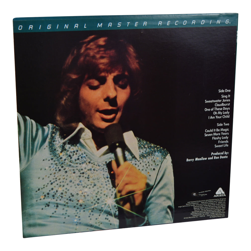 MFSL Collectors: 1982 Mobile Fidelity Barry Manilow I LP #1-097