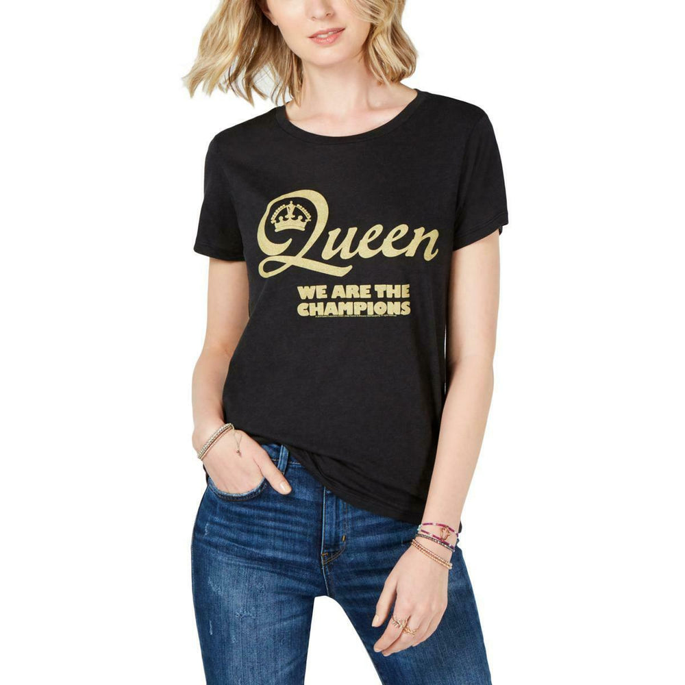 2018 Queen Freddie Mercury Lucky Brand Womens We Are The Champions T-Shirt-Medium