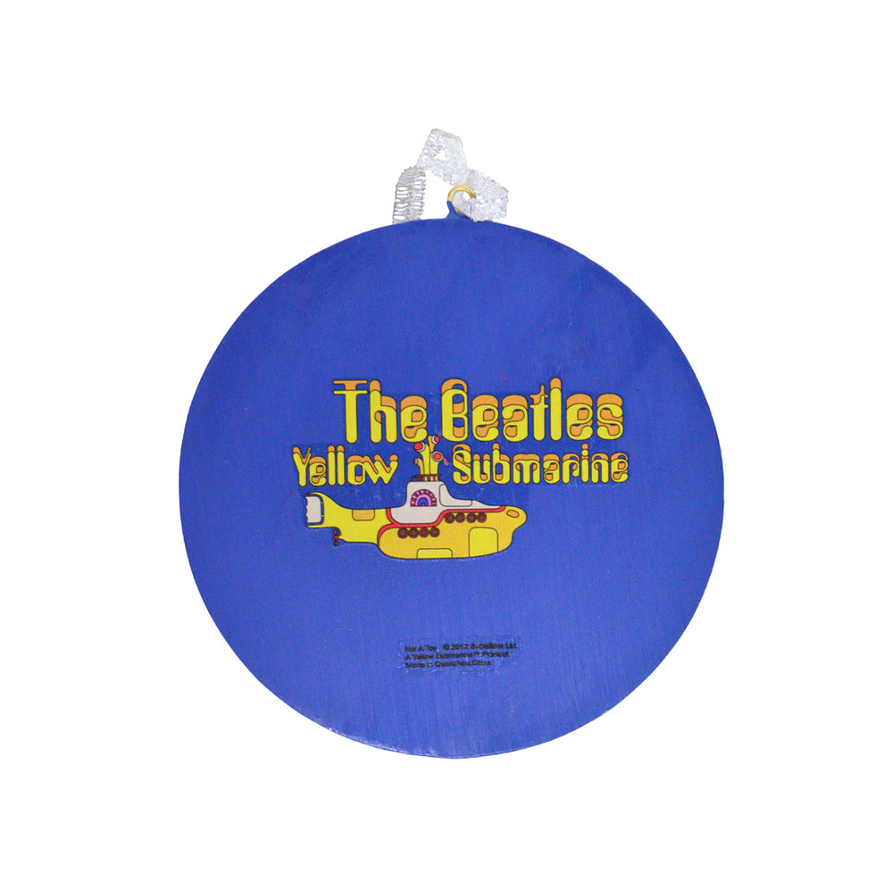 Beatles Collectible: 2012 Kurt Adler Yellow Submarine Dome Christmas Ornament