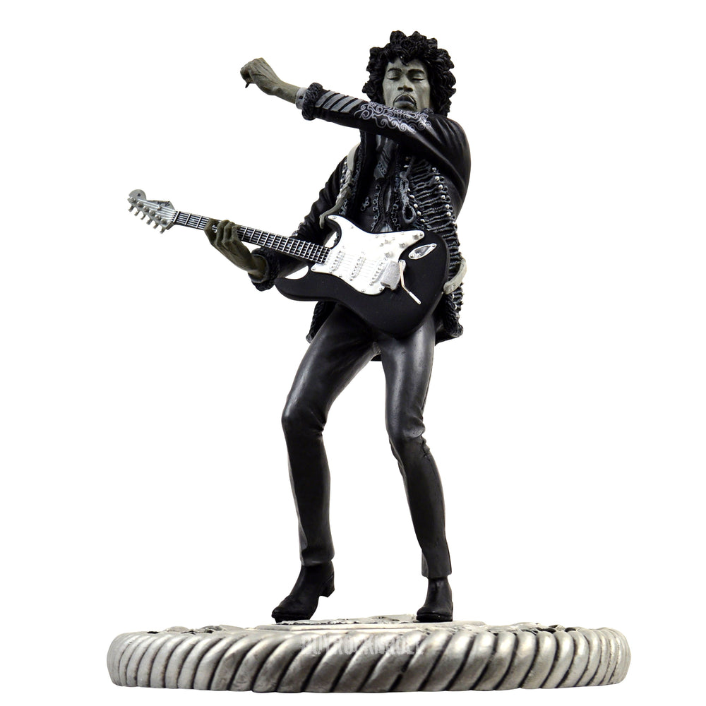 Jimi Hendrix Collectible 2006 Knucklebonz Rock Iconz Guitar Hero Nostalgia Statue