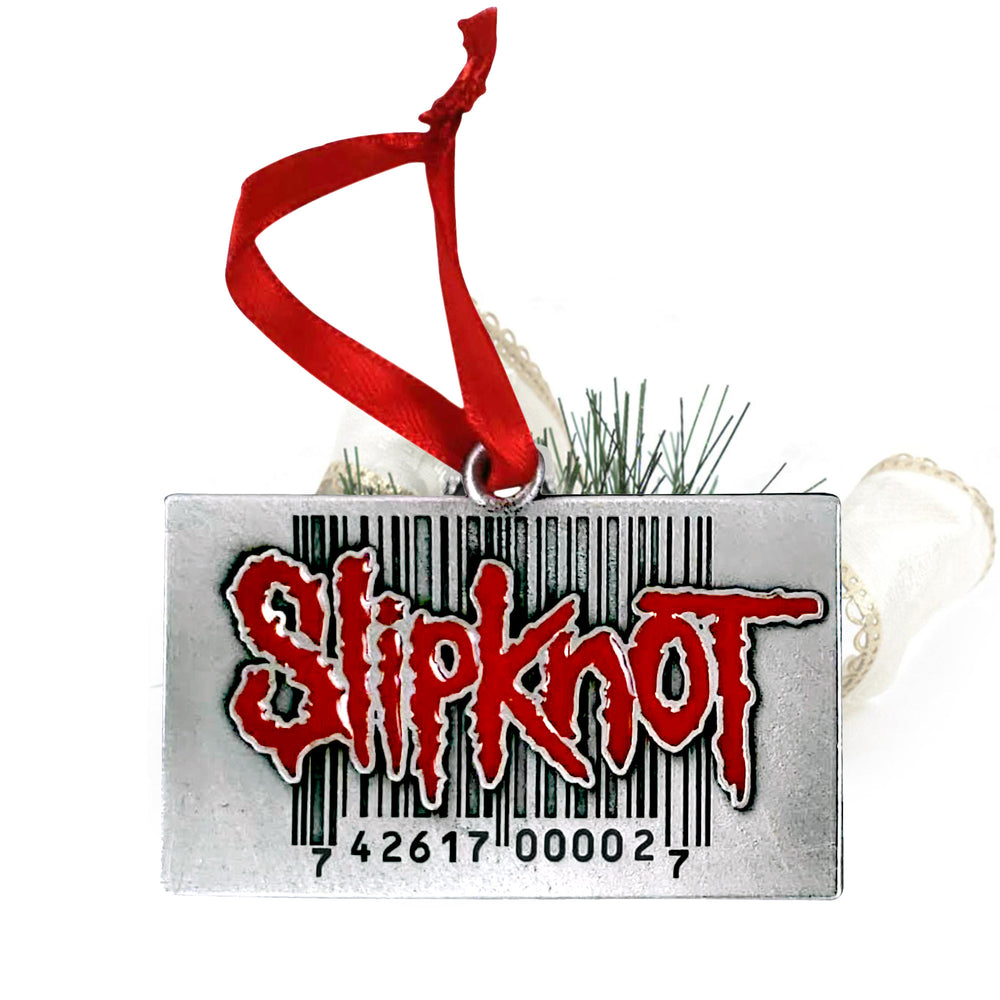 Slipknot Collectible: Barcode 742617000027 Christmas Holiday Ornament