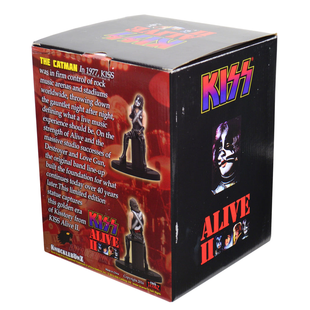 KISS Collectible: 2016 KnuckleBonz Rock Iconz Alive II Peter Criss Statue