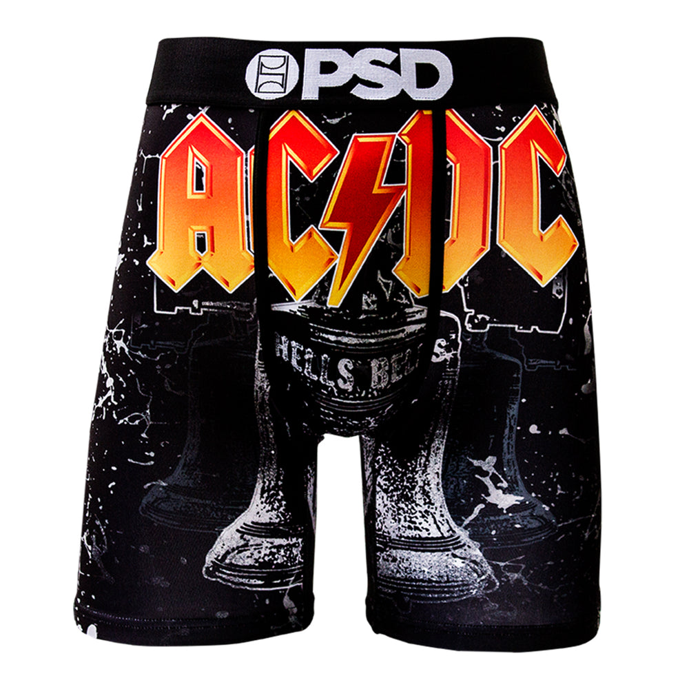 AC/DC Collectors: 2016 PSD Hells Bells Single Logo & Artwork Boxer Brief - XL