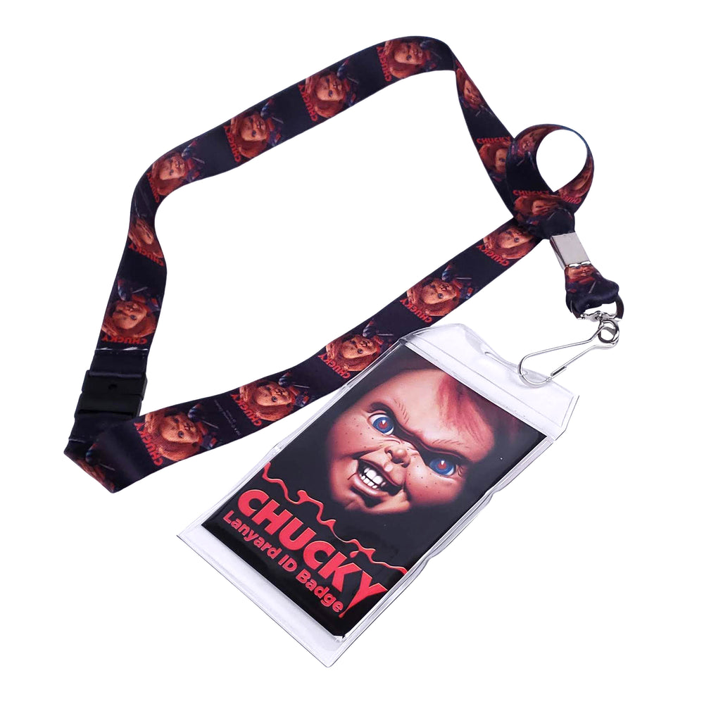 Bride of Chucky Doll Collectible Universal 2012 Childs Play Lanyard ID Badge