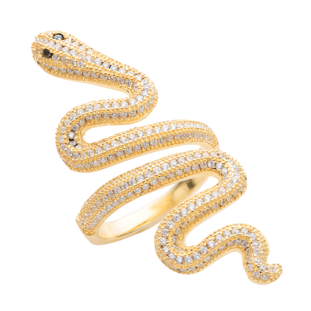 Taylor Swift Collectible: 2017 Gold Snake Ring