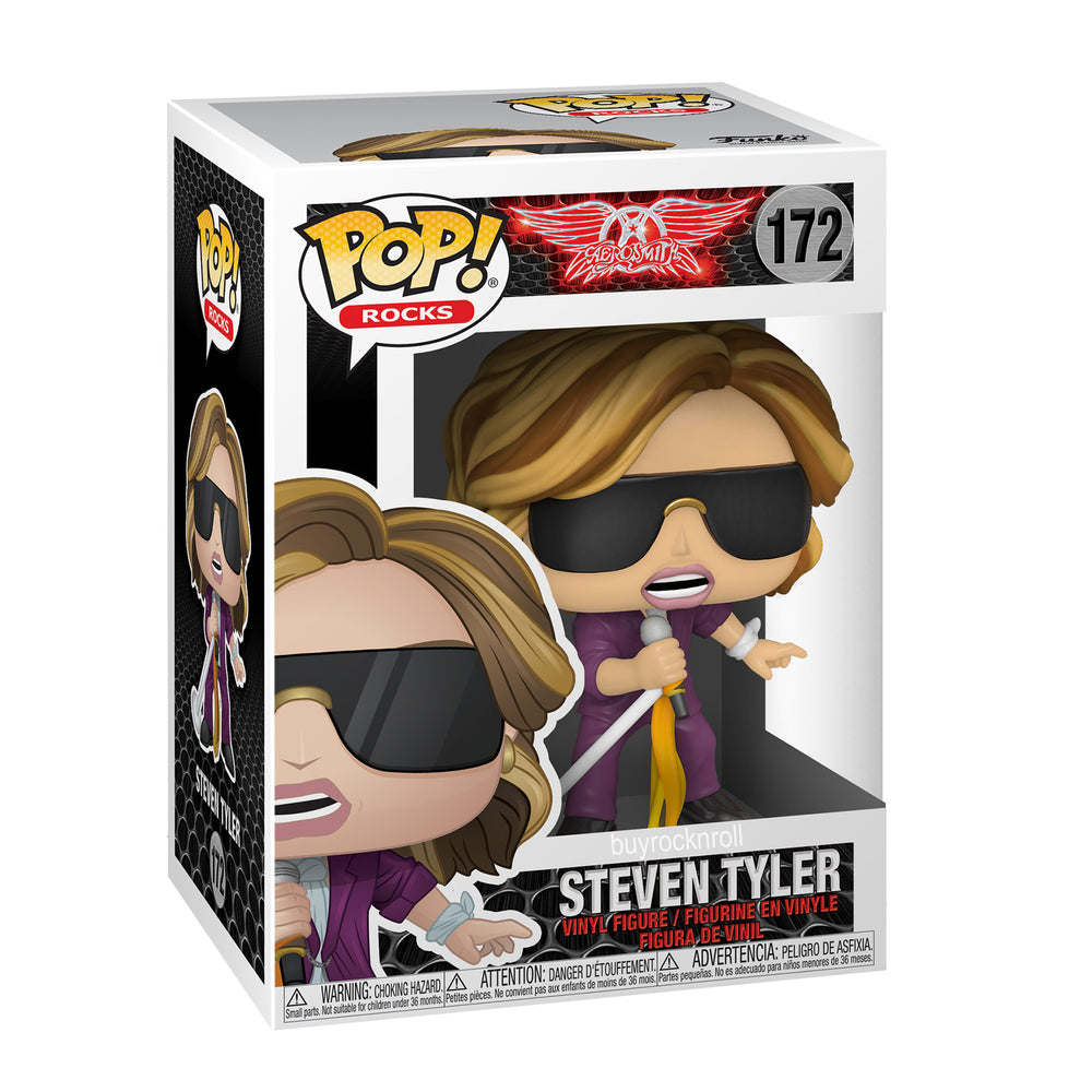Aerosmith Collectible 2020 Funko Pop! Steven Tyler Joe & Perry Handpicked Figures Protectors