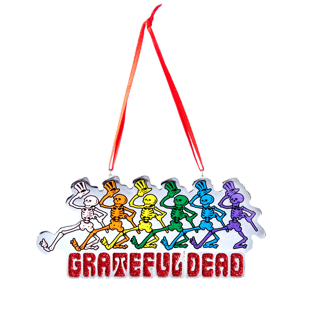 Grateful Dead Collectible: 2014 Dancing Skeleton Ornament
