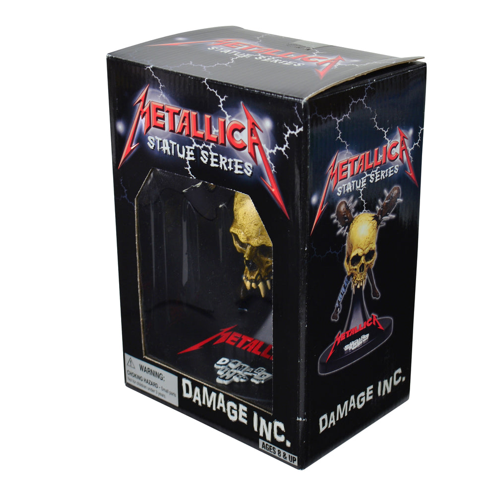 Metallica Collectible: 2002 SEG Damage Inc Statue Figure