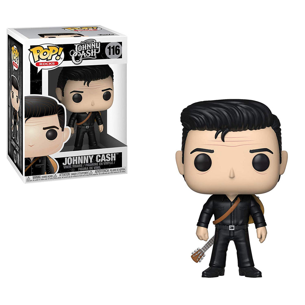 Johnny Cash Collectible Handpicked 2018 Funko Pop! Rocks Man In Black Figure Set
