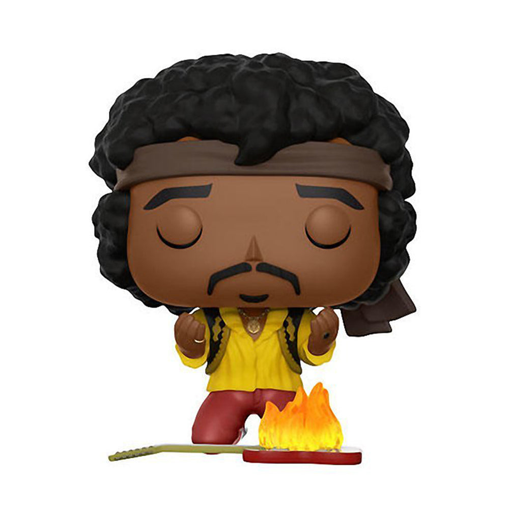 Jimi Hendrix Collectible: 2017 Funko POP Rocks! Fye Exclusive Monterey Figure #53