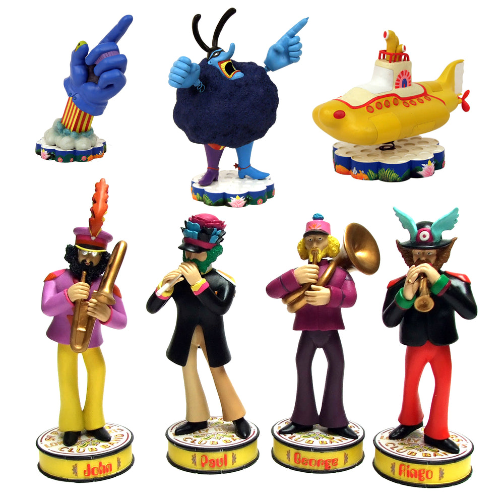 Beatles Collectibles: 2013 Factory Entertainment Yellow Submarine Shakems Set