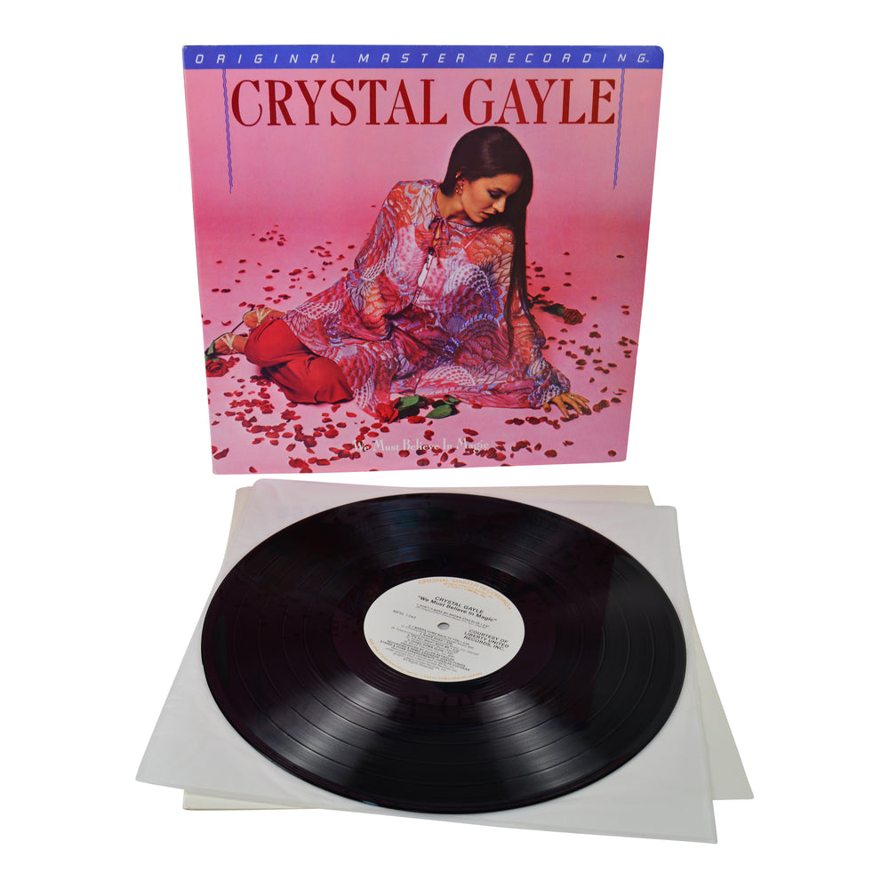 MFSL Collectors: 1980 Mobile Fidelity Crystal Gayle We Must Believe In Magic LP #1-043