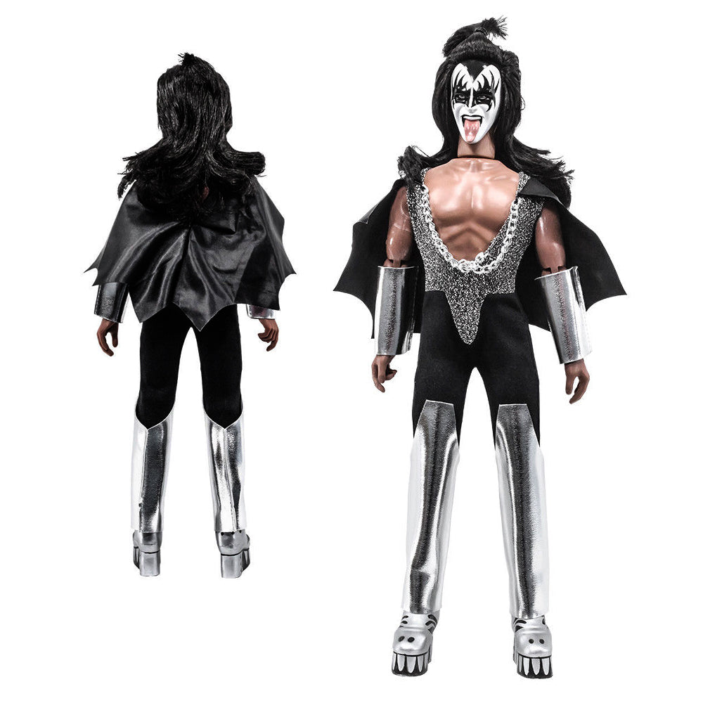 "KISS Collectible 2011 Figures Toy Company Love Gun Series 1 Retro 8"" Doll Set"