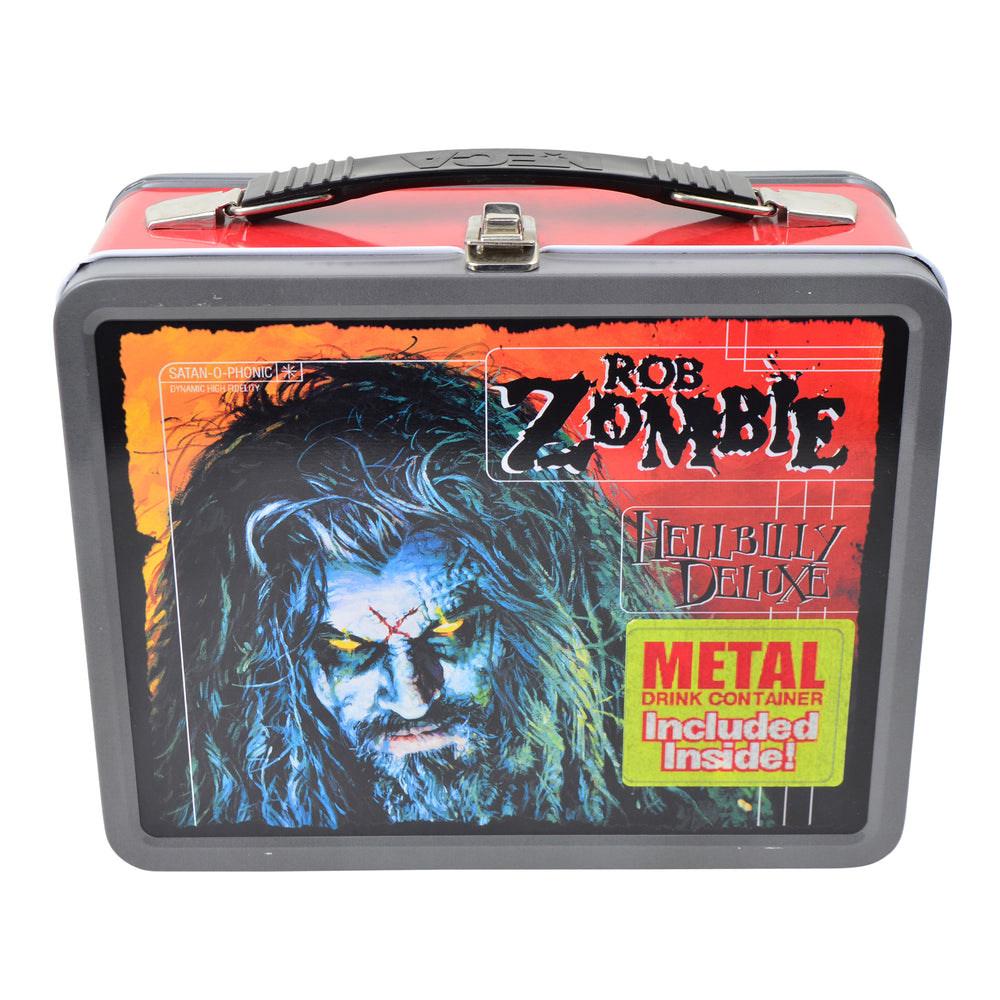 Rob Zombie Rare Collectible 2001 NECA Hill Billy Deluxe Lunchbox & Thermos