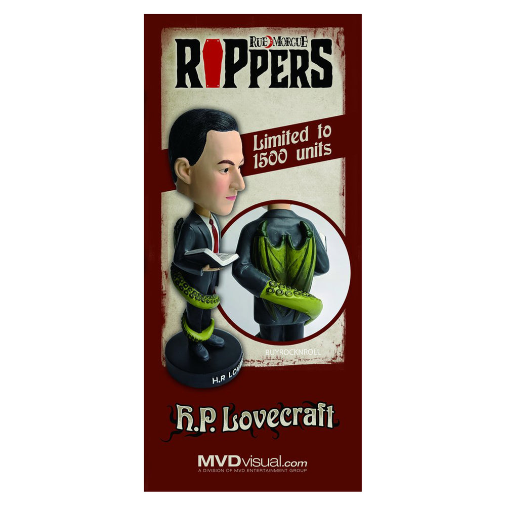 H.P. Lovecraft Collectible 2019 Rue Morgue Rippers Limited Edition Bobblehead