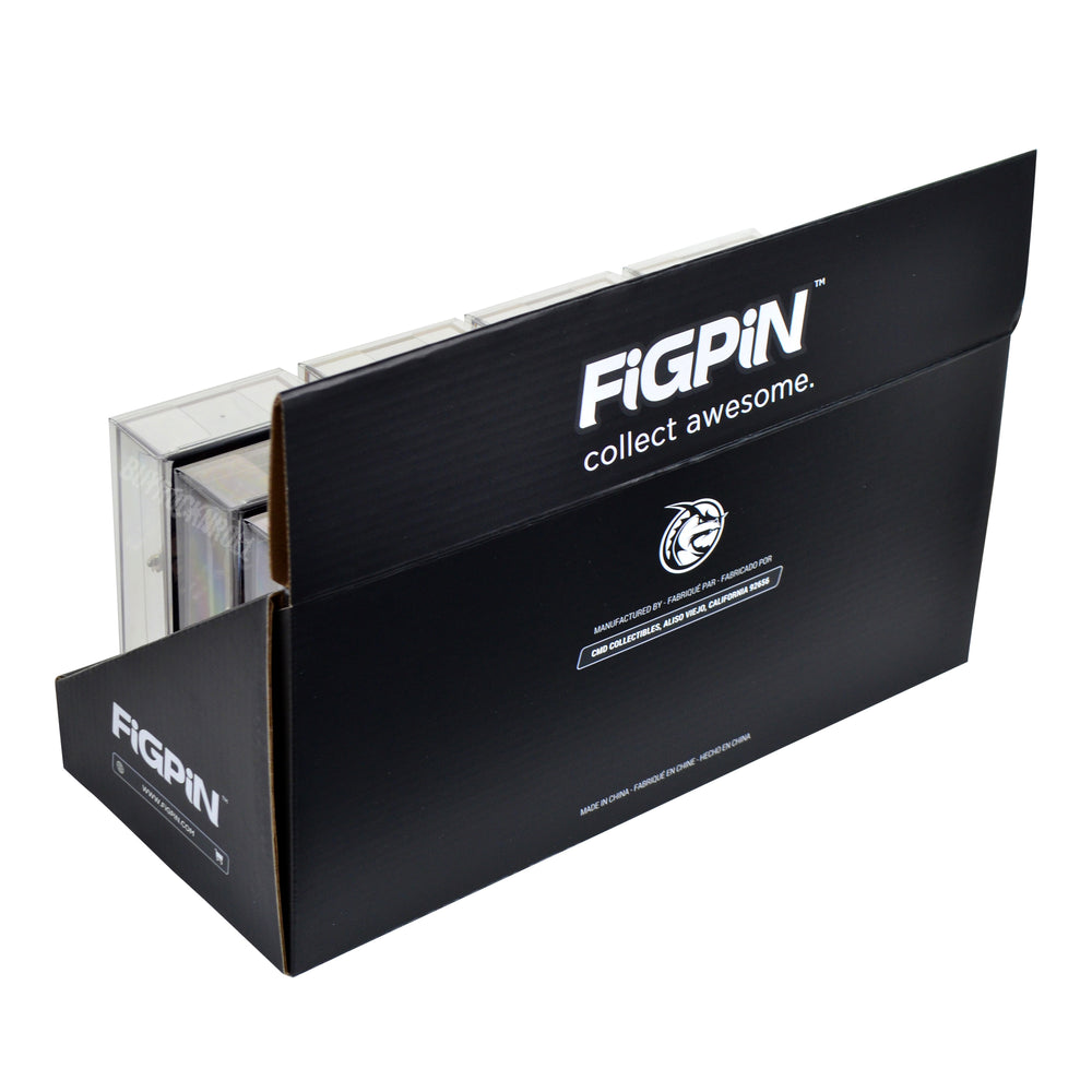 FiGPiN Collectors Retail Display Storage Case - Holds 12 FiGPiN Displays  (AC/DC KISS David Bowie)